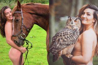 Единбурзькі студенти знялися оголеними на підтримку тварин