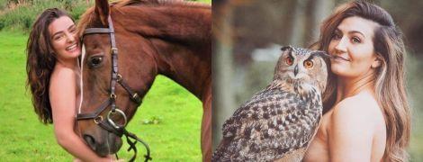 Эдинбургские студенты снялись обнаженными в поддержку животных