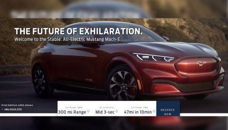 Электрический кроссовер Mustang. В Сеть слили фото, цены и характеристики