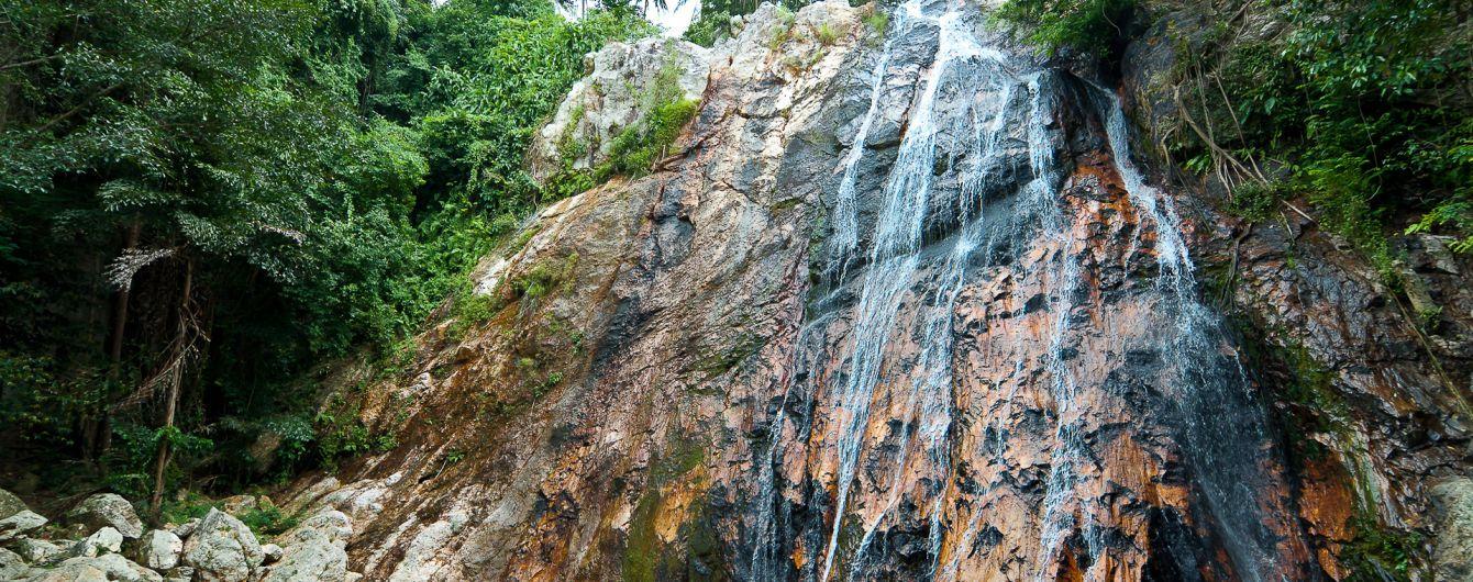 На острові Самуї турист загинув, намагаючись зробити селфі на фоні водоспаду