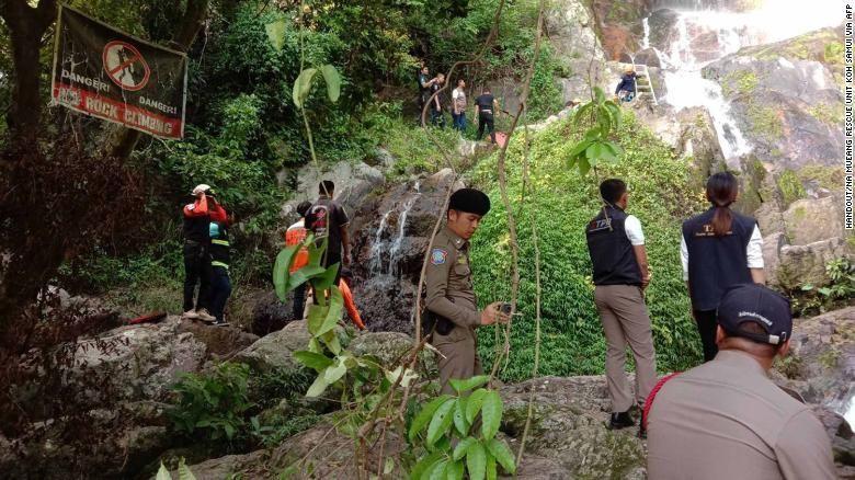 водопад, Самуи