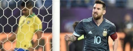 Месси принес Аргентине победу над Бразилией в товарищеском матче