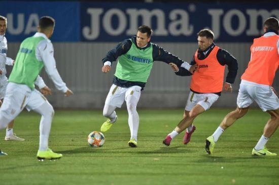Збірна України потренувалася в Сербії перед заключним матчем відбору Євро-2020