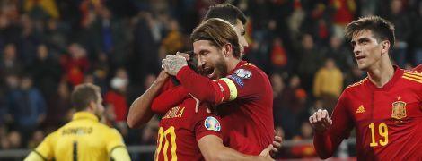 Відбір на Євро-2020: Іспанія відвантажила сім м'ячів Мальті, Швеція вийшла у фінальну частину