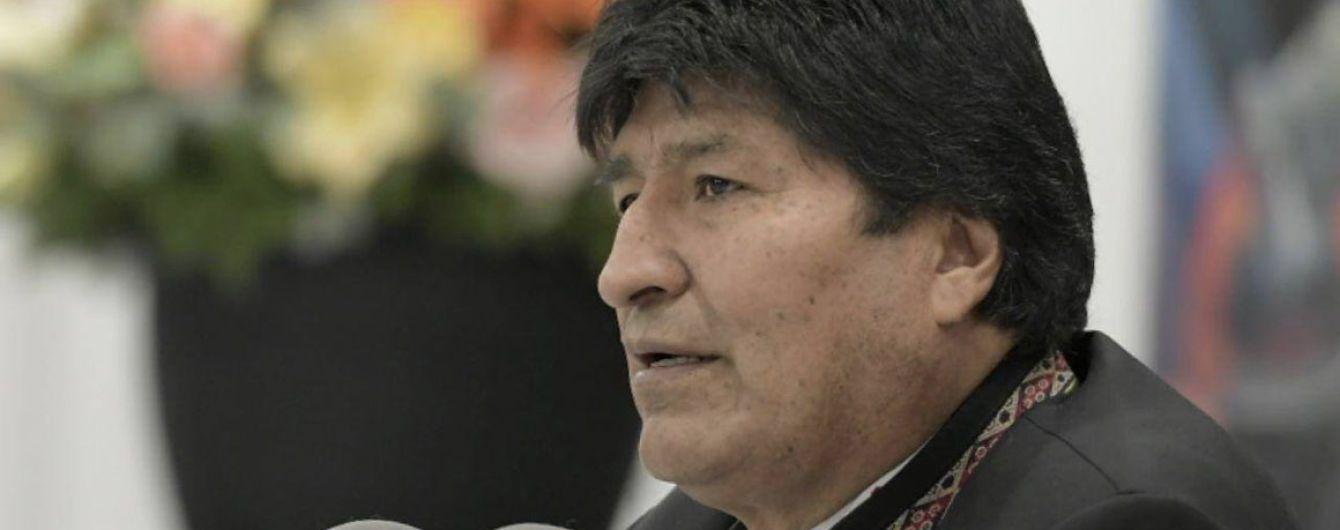 Моралес считает себя легитимным президентом и планирует возвращение к власти в Боливии