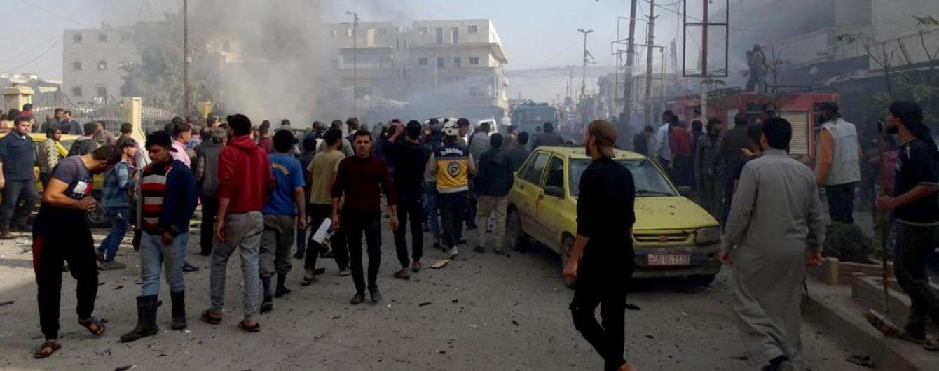 Теракт на півночі Сирії: на парковці вибухнув автомобіль, 18 загиблих