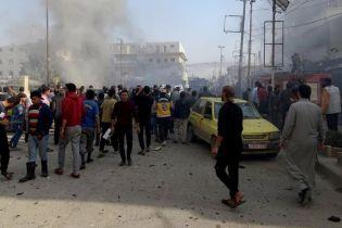 Теракт на севере Сирии: на парковке взорвался автомобиль, 18 погибших