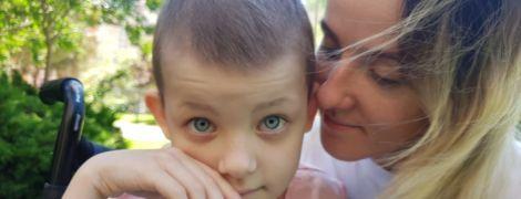 С раком почки мужественно борется 6-летняя киевлянка София