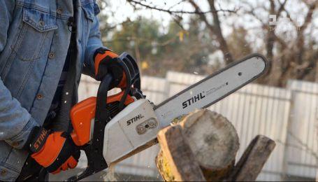 Заготівля дров на зиму – Осінь на дачі зі Stihl