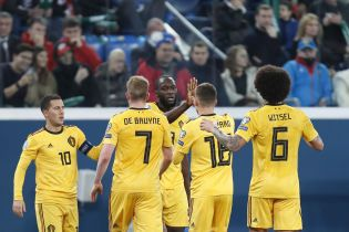 Бельгия разгромила Россию, одержав девятую победу в отборе Евро-2020