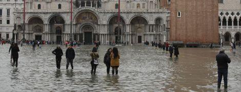 Рекордное наводнение в Венеции может усилиться