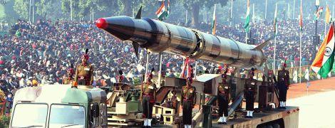 Индия испытала новую баллистическую ракету для 1-тонного ядерного боезаряда