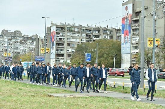 Прогулянка та тренування. Як збірна України провела переддень матчу із Сербією
