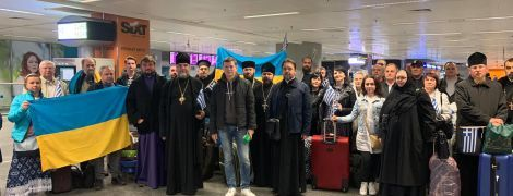 Делегация паломников ПЦУ посетила Грецию и пережила несколько провокаций от сторонников РПЦ