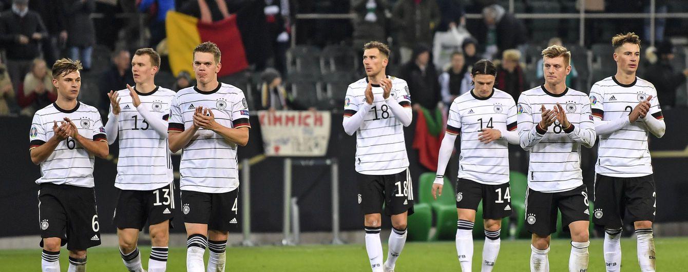 Германия установила рекорд по количеству выходов на Чемпионат Европы