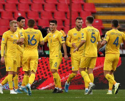 Сборная Украины на последних секундах избежал поражения в матче с Сербией