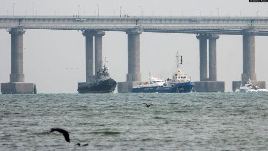 У Кремлі відхрестилися від зв'язку між поверненням українських кораблів і рішенням Міжнародного трибуналу