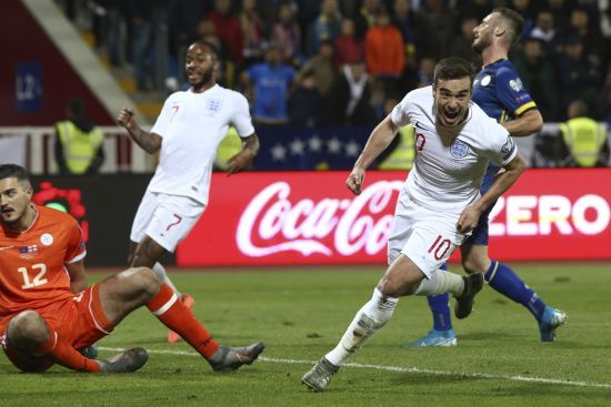 Відбір до Євро-2020. Англія за десять хвилин розбила Косово, Чехія несподівано поступилася Болгарії