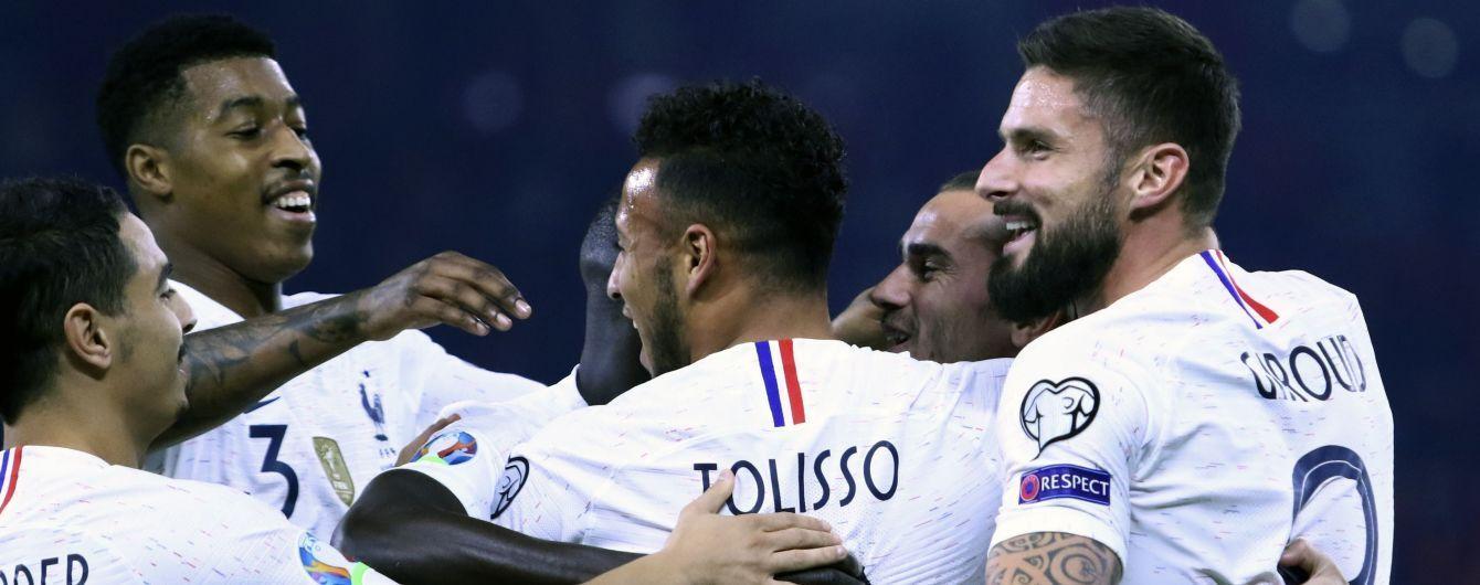Збірні Франції та Туреччини синхронними перемогами завершили відбір до Євро-2020