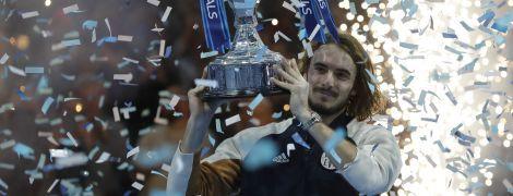 Грецький тенісист несподівано став переможцем Підсумкового турніру