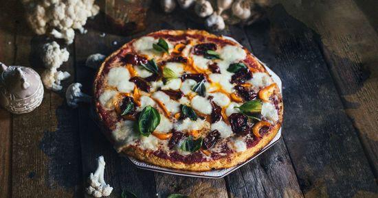 Основа для піци з цвітної капусти