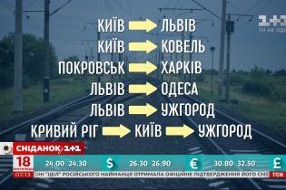 """""""Укрзалізниця"""" вже призначила шість додаткових поїздів на новорічні свята – економічні новини"""