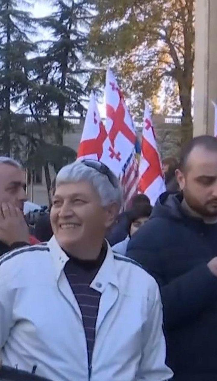 У Грузії демонстранти намагаються змусити владу провести дострокові парламентські вибори