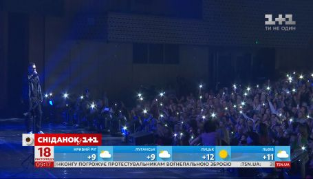 Палітра емоцій: як минув концерт головного романтика країни – Олександра Пономарьова