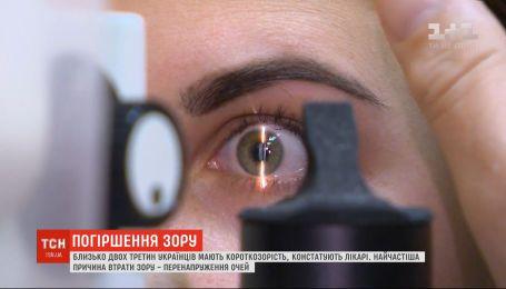Чому порушується зір та як цьому запобігти: поради лікаря-офтальмолога