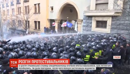 """Протести у Грузії: опозиція назвала спробу розгону """"путінізмом"""""""