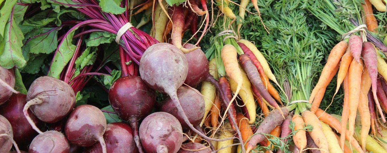 В Украине резко подешевели свекла и морковь