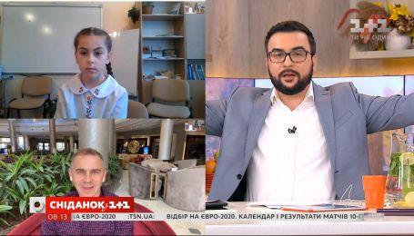 Олександр Авраменко привітав школярку, яка написала радіодиктант без помилок