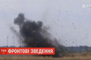 Боевики за минувшие сутки 14 раз осуществляли обстрелы на передовой