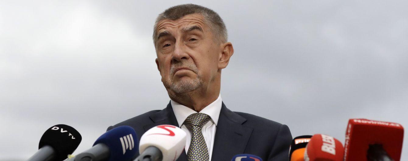 Премьер Чехии приехал в Киев на встречу с Зеленским