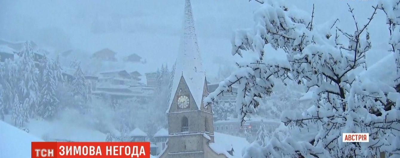В Австрії під зсувом ґрунту загинув чоловік, а синоптики прогнозують снігопади та лавини