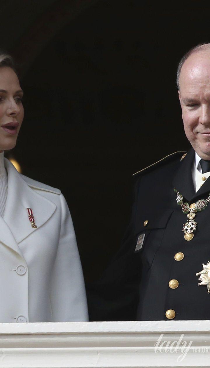 Княгиня Шарлин и князь Альбер II