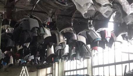 На Закарпатье найден огромный склад контрабандных автозапчастей