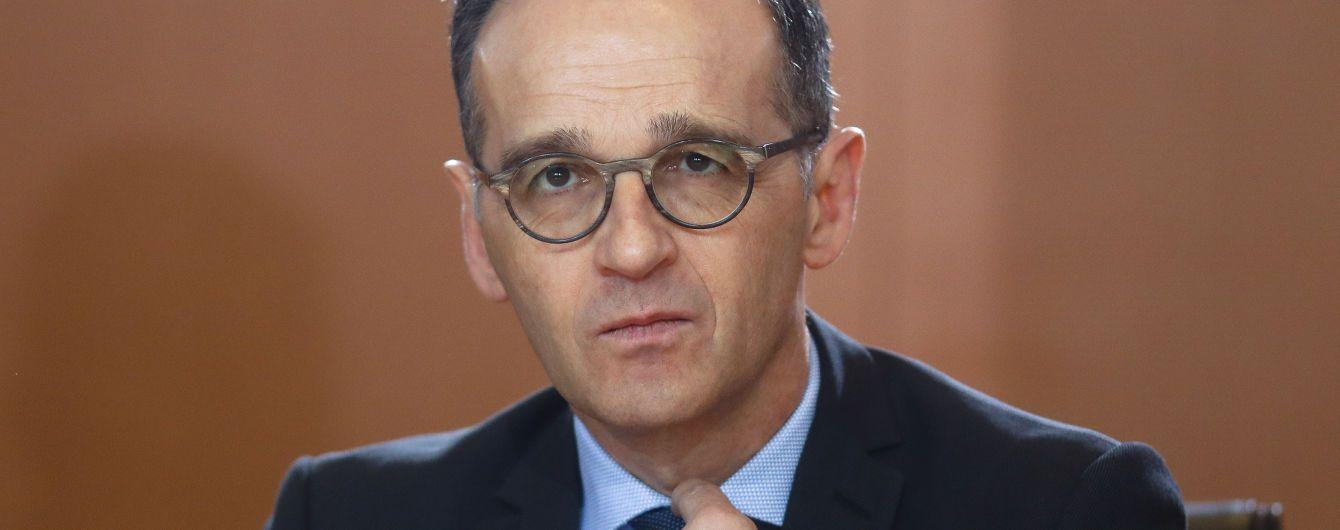Настала очередь РФ выполнять свои обязательства по Донбассу - глава МИД Германии
