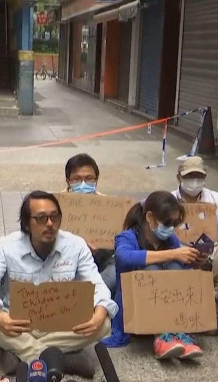 За сутки осады политеха в Гонконге арестовали 1100 человек