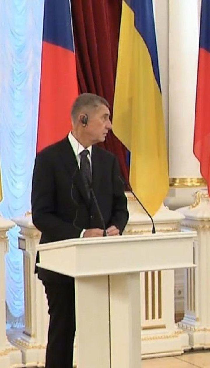 Чехия осуждает агрессию России на Донбассе и аннексию Крыма