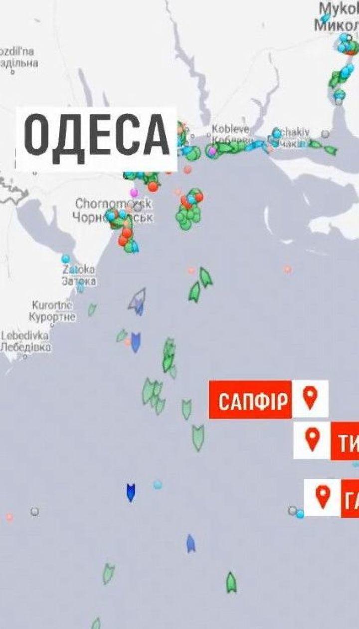 Захваченные Россией украинские бронекатера и буксир должны прибыть в Очаков