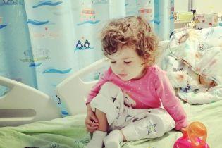 В немедленной помощи нуждается 2-летняя Полинка