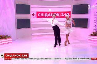 Юні танцюристи Анастасія Захарова та Арсеній Мороз розповіли про спортивне дитинство