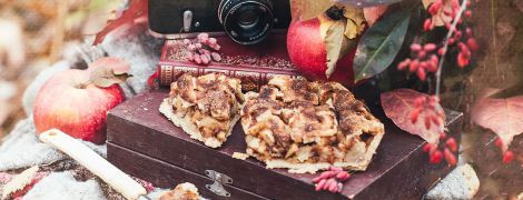 Ароматный яблочный пирог