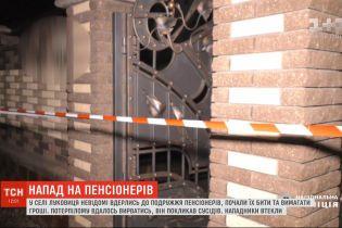Зловмисників, які ледь не закатували подружжя пенсіонерів, розшукують на Буковині
