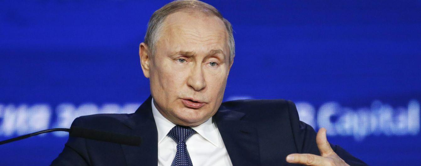 Путін розповів про свої стосунки з Зеленським