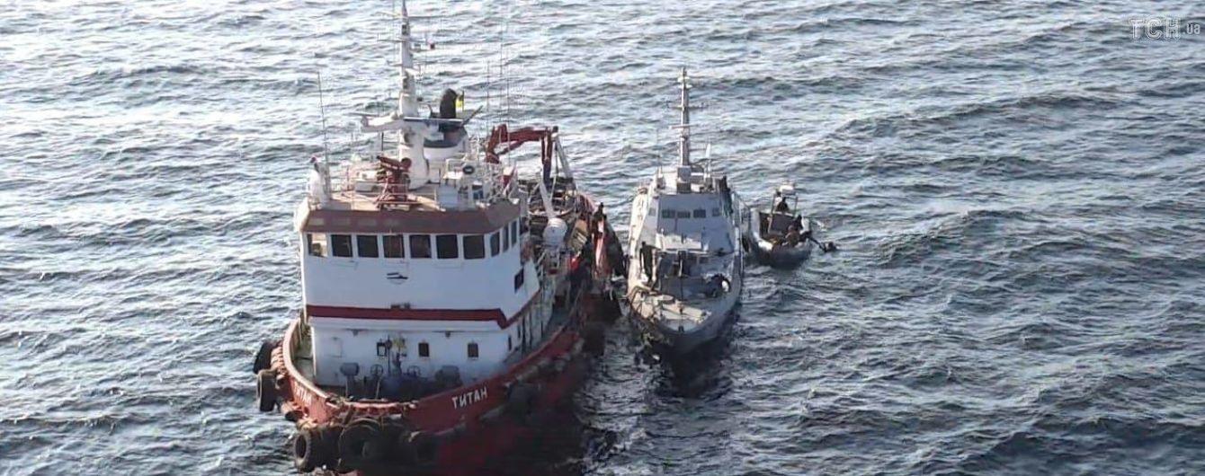 В РФ объяснили, куда исчезли личные вещи моряков с возвращенных Украине кораблей