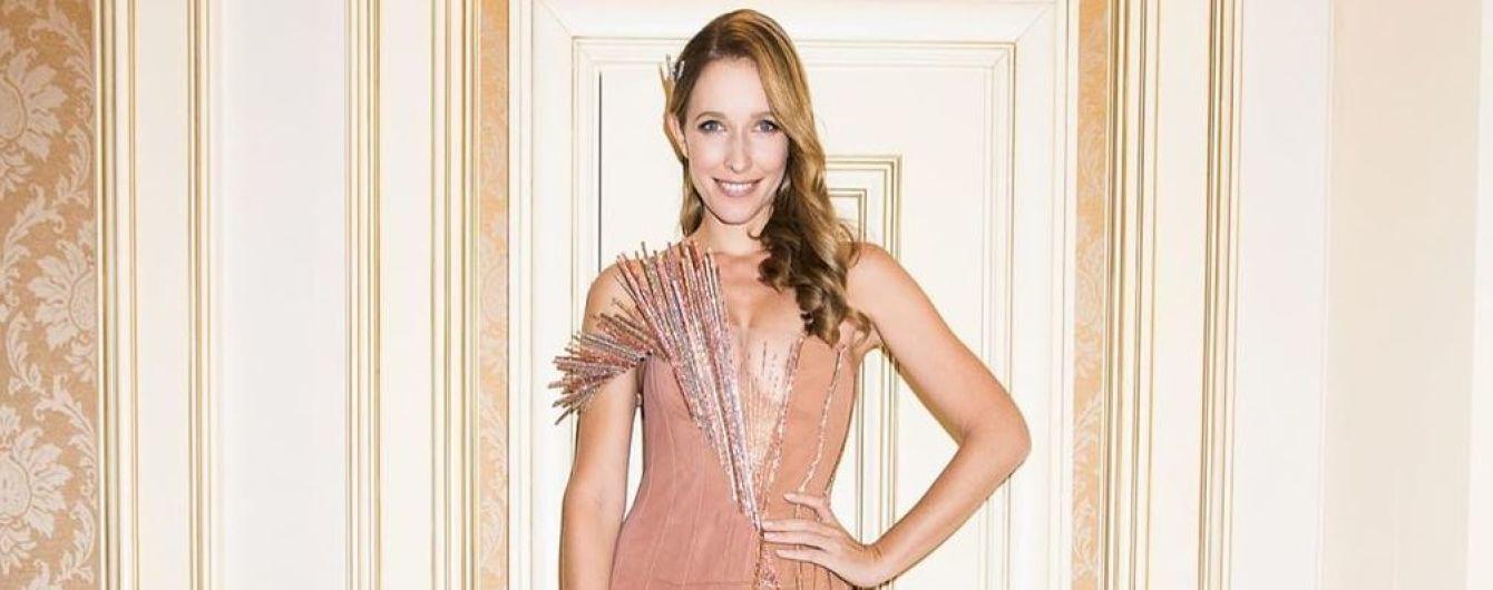 В красивом платье и с мужем: Катя Осадчая на церемонии Best Fashion Awаrds