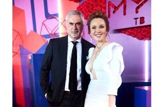 Валерий Меладзе впервые спел в дуэте со своей женой Альбиной Джанабаевой