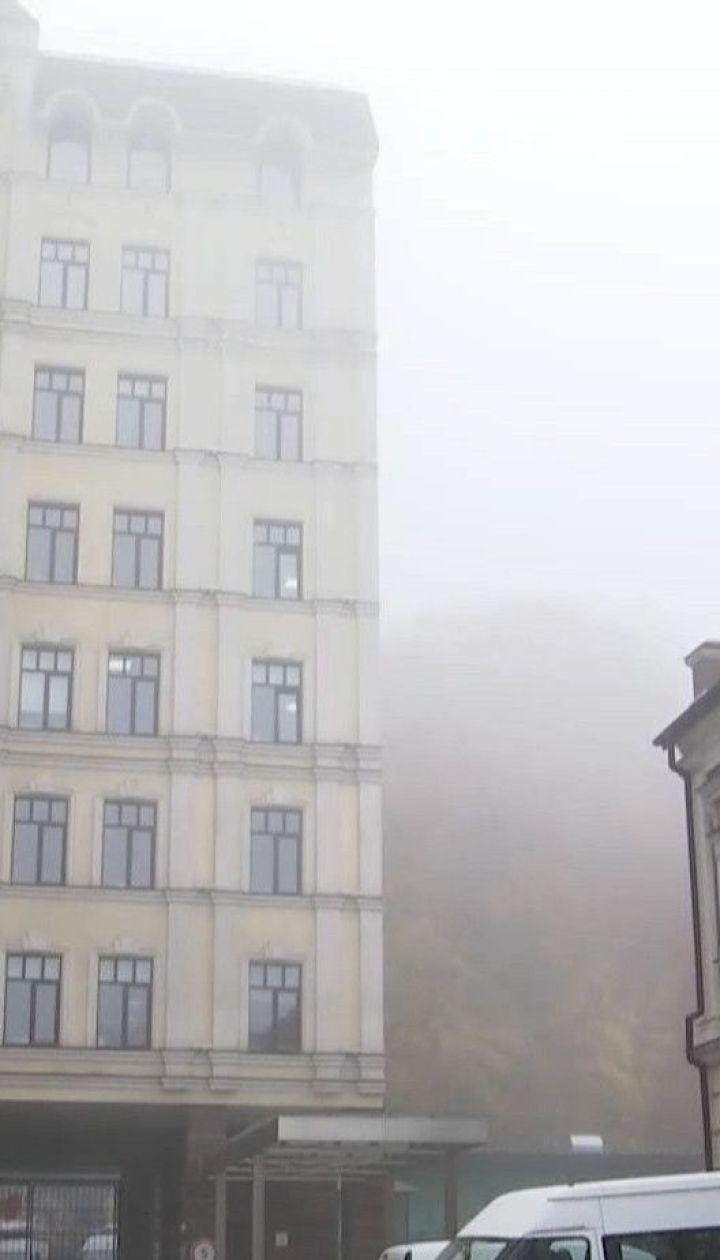 Синоптики попереджають про значне зниження температури й штормовий вітер